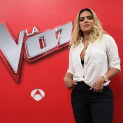 Karol G, como asesora de 'La Voz'