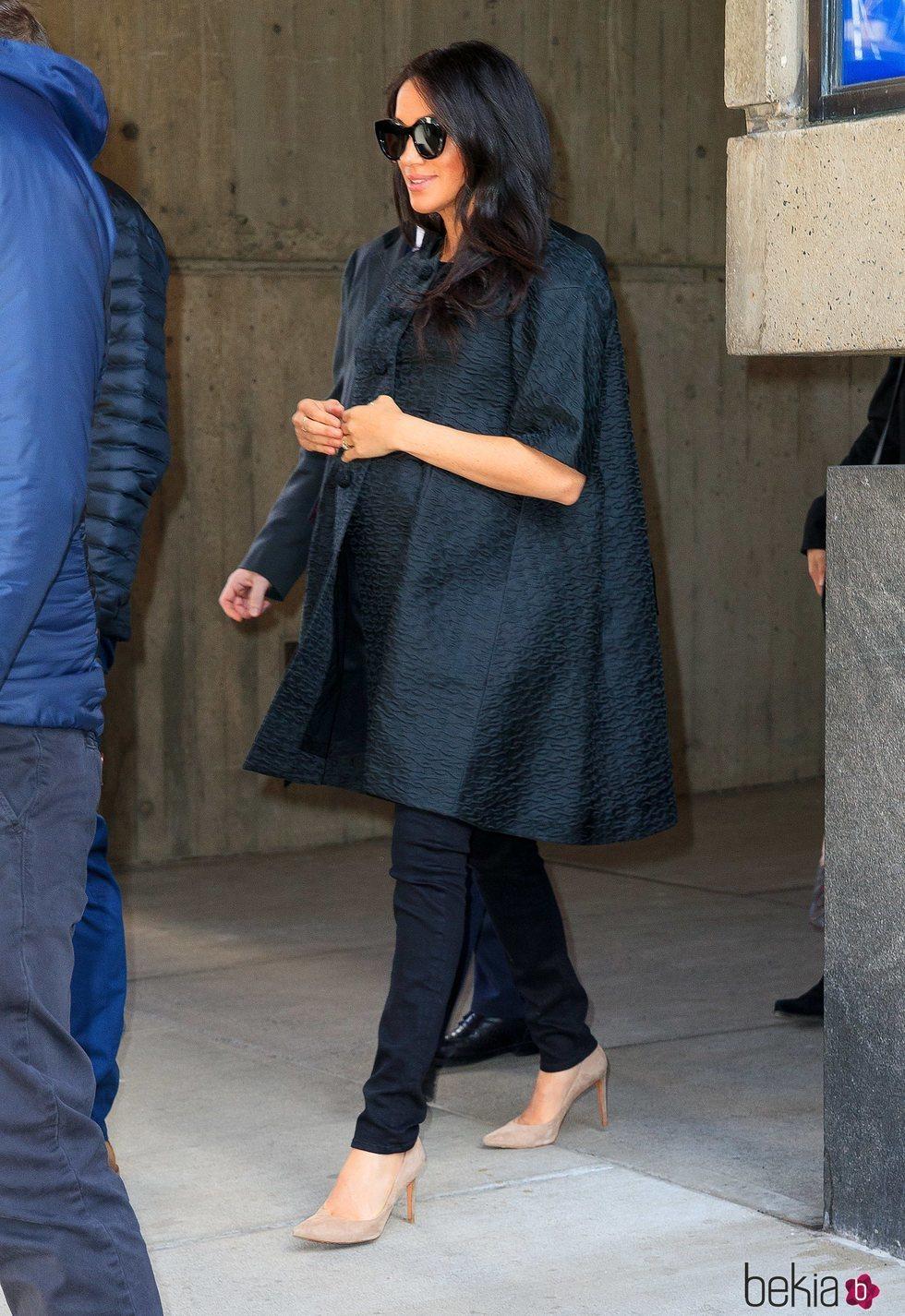 Meghan Markle en Nueva York para su baby shower
