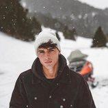 Daniel Illescas en la nieve