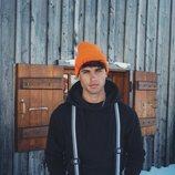 Daniel Illescas luce ropa de nieve