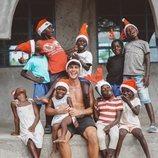 Daniel Illescas, de voluntariado en Kenia