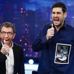 Melendi y Pablo Motos en 'El Homiguero'