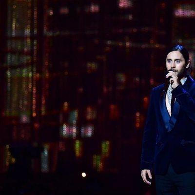 Jared Leto en los premios Brit Awards 2019