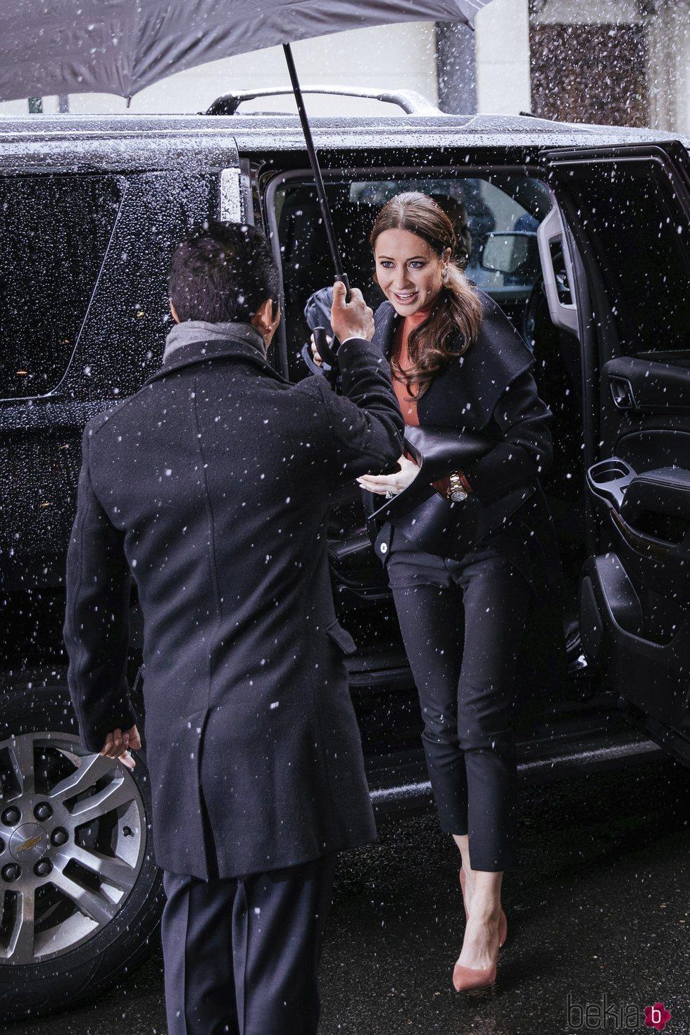 Jessica Mulroney en el baby shower de Meghan Markle