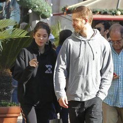 Calvin Harris y su novia Aarika wolf