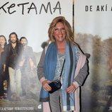 Lydia Lozano en el concierto de Ketama