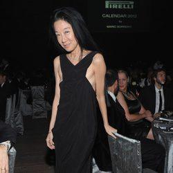 Vera Wang en la presentación del calendario Pirelli 2012