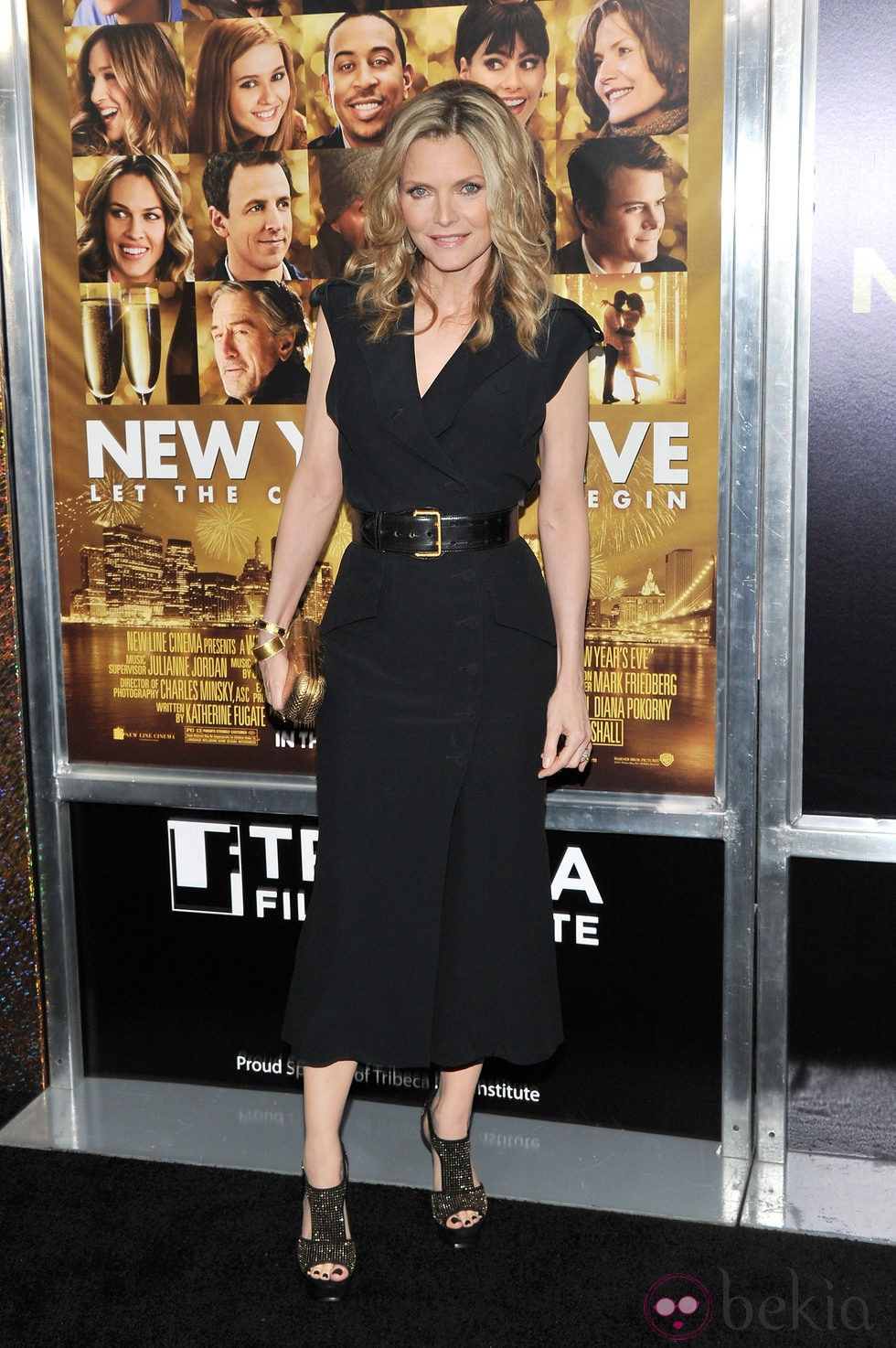Michelle Pfeiffer en el estreno de 'New Year's Eve' en Nueva York