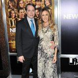 Matthew Broderick y Sarah Jessica Parker en el estreno de 'New Year's Eve' en Nueva York