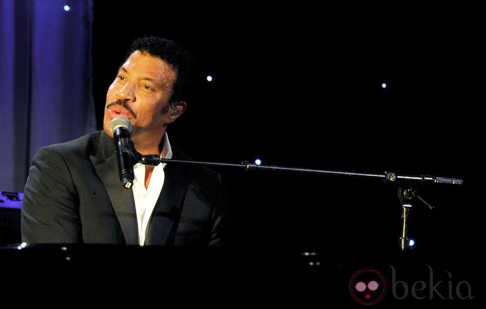 Lionel Richie en la gala Unicef Ball 2011