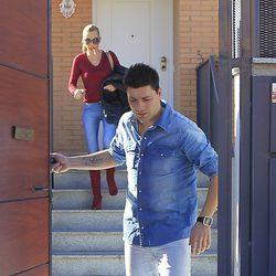 Fran Álvarez y Belén Esteban en Paracuellos del Jarama