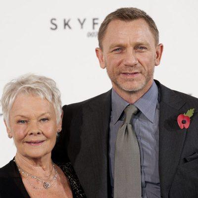 Judi Dench y Daniel Craig presentan la nueva película de James Bond, 'Skyfall'