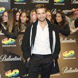 Pablo Alborán en los Premios 40 Principales 2011