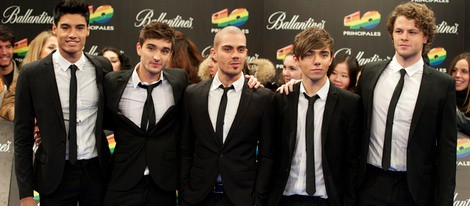 The Wanted en los Premios 40 Principales 2011