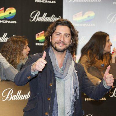 Manu Carrasco en los Premios 40 Principales 2011