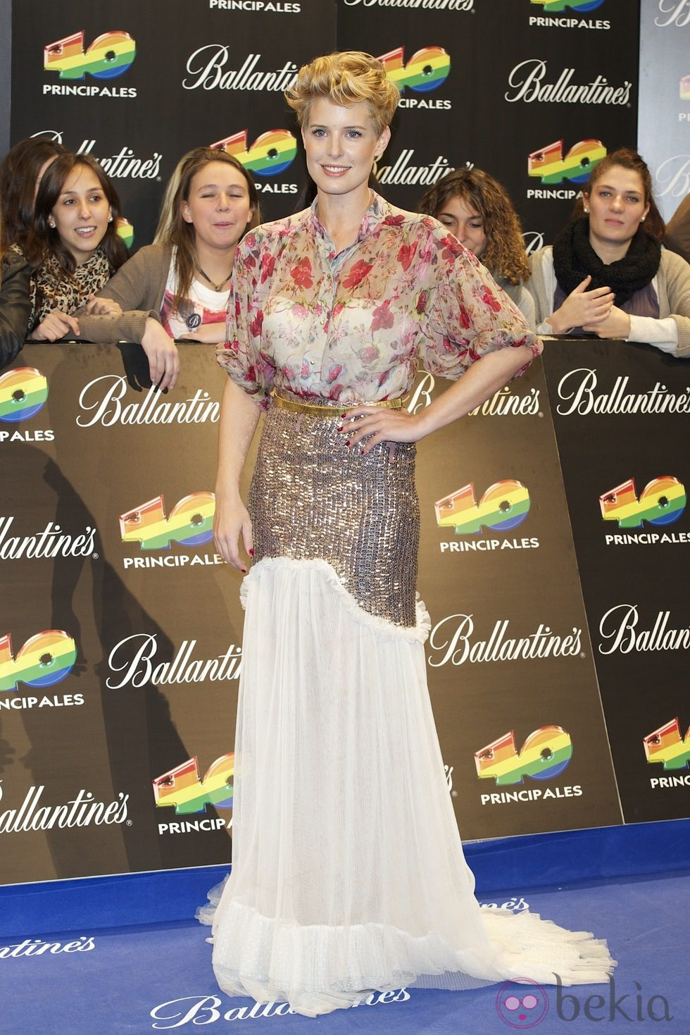 Tania Llasera en los Premios 40 Principales 2011