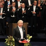Brian Schmidt recibe el Premio Nobel de Física 2011