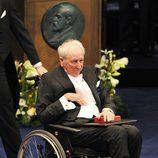 Tomas Tranströmer recibe el Premio Nobel de Literatura 2011