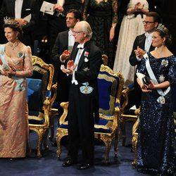 La Familia Real Sueca en la entrega de los Premios Nobel 2011