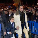 Jaime de Marichalar y Froilán en el partido Madrid-Barça en el Santiago Bernabéu