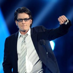 Charlie Sheen en los Video Game Awards 2011