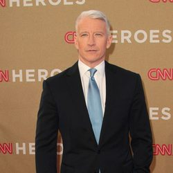 Anderson Cooper en la gala CNN Heroes: An All-Star Tribute