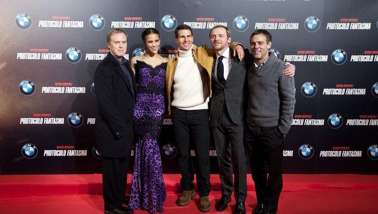 Todo el elenco de 'Misión imposible: Protocolo fantasma'