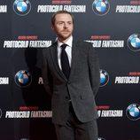 Simon Pegg en el estreno de 'Misión imposible: Protocolo fantasma' en Madrid