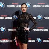 Juncal Rivero en el estreno de 'Misión imposible: Protocolo fantasma' en Madrid