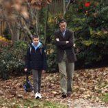 Iñaki Urdangarín pasea con su hijo Juan Urdangarín por Washington