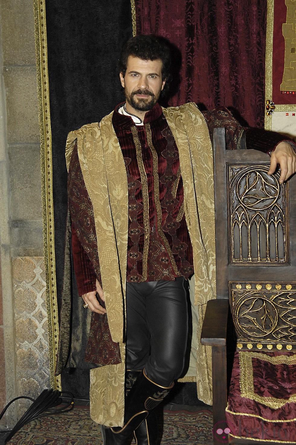 Rodolfo Sancho interpreta a Fernando de Aragón en 'Isabel'