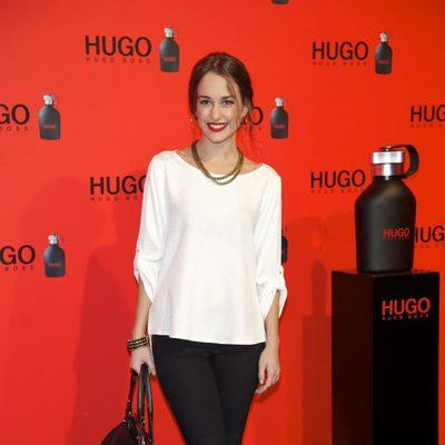 Silvia Alonso en la fiesta de Hugo Boss