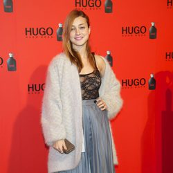 Russian Red en la fiesta de Hugo Boss