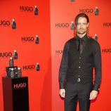 William Miller en la fiesta de Hugo Boss