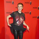 Eva Hache en la fiesta de Hugo Boss