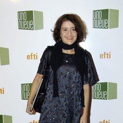 María Pujalte en la exposición 'No tan felices'