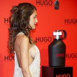 El escotadísimo vestido de Hiba Abouk en la fiesta Hugo Boss