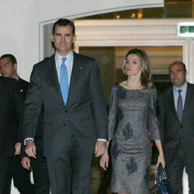 Los Príncipes presiden la presentación de la Fundación Príncipe de Girona en Barcelona