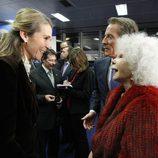 La Infanta Elena y la Duquesa de Alba en los Premios Alfonso Ussía