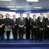 Ana Botella, Esperanza Aguirre, Curro Romero, Alfonso Ussía, la Infanta Elena y Marta Domínguez