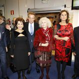 Espartaco, los Duques de Alba, Carmen Tello y Curro Romero en los Premios Alfonso Ussía