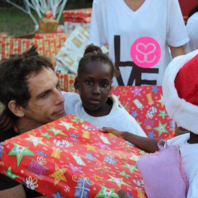 Ben Stiller con los más desfavorecidos de Haití
