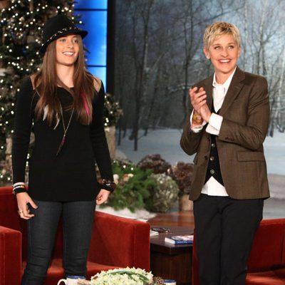 Paris Jackson y Ellen DeGeneres