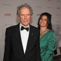 El matrimonio formado por Clint y Dina Eastwood