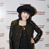 Angy Fernández en la reapertura de una tienda Comptoir des Cotonniers