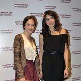 María León y Marta Fernández en la reapertura de una tienda Comptoir des Cotonniers