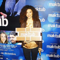 Irene Visedo en el estreno de 'Maktub'
