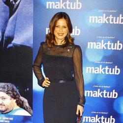 Aitana Sánchez Gijón en el estreno de 'Maktub'