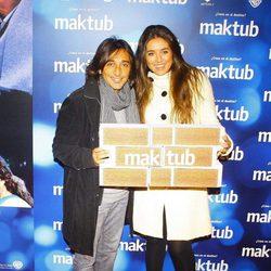 Antonio Carmona en el estreno de 'Maktub'