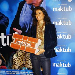 Nuria March en el estreno de 'Maktub'
